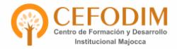 Centro de Formación y Desarrollo Institucional MAJOCCA   Campus Virtual